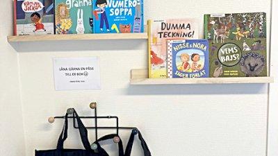 Språket i fokus på nya förskolan Sagolandet
