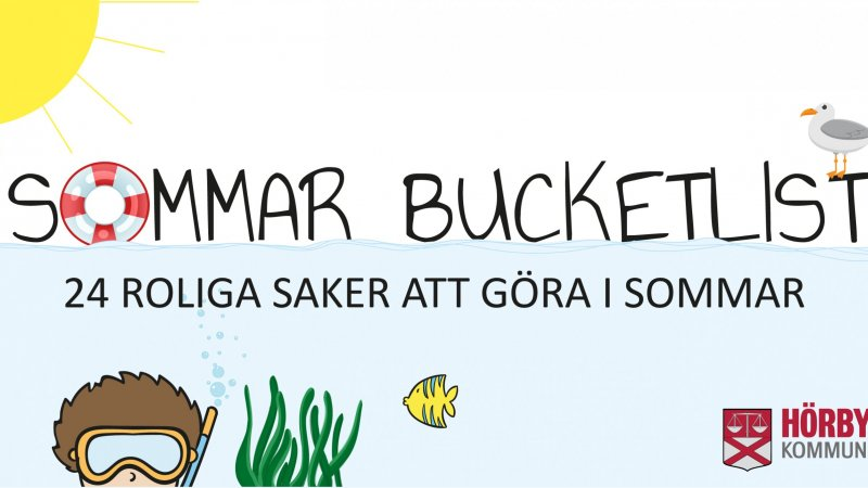 Sommarens bucketlist 2021