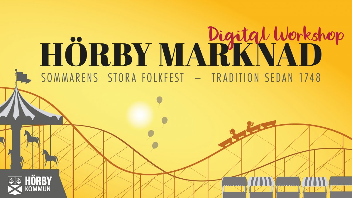 Digital workshop för framtidens Hörby marknad