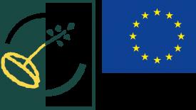 Logotyp Leaderprojekt i nomEuropeiska unionen