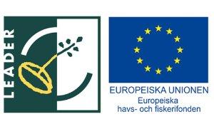 Leader och EU-logotyper