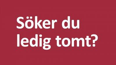 Lediga tomter i Hörby