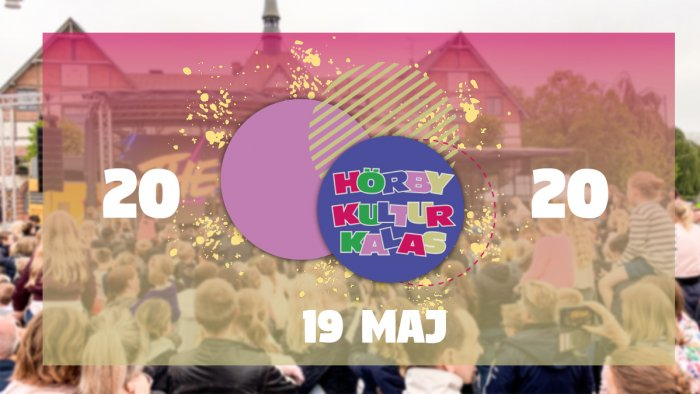 Sätt ett kryss i kalendern för den 19 maj 2020!
