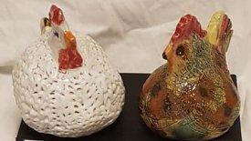 Keramik höna