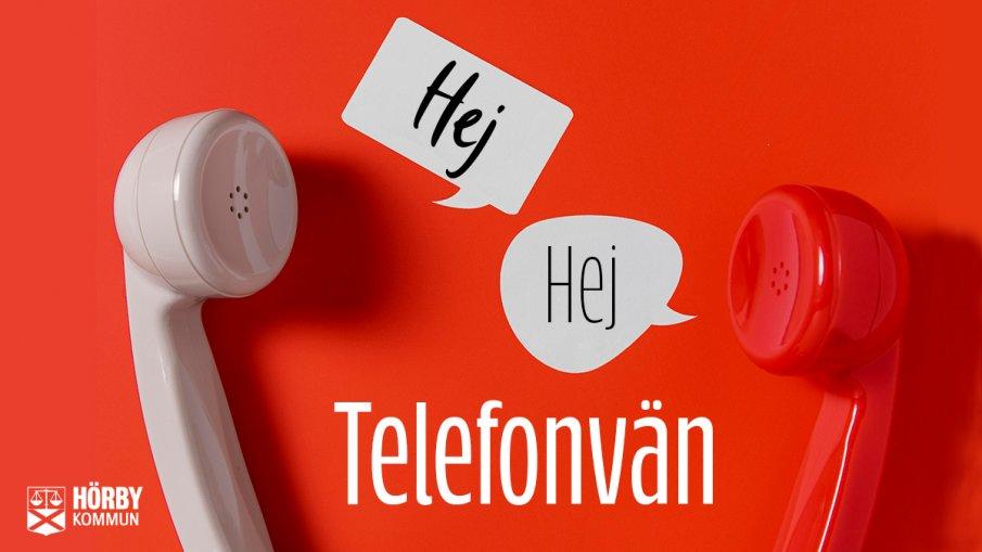vit telefon och röd telefon säger hej till varandra