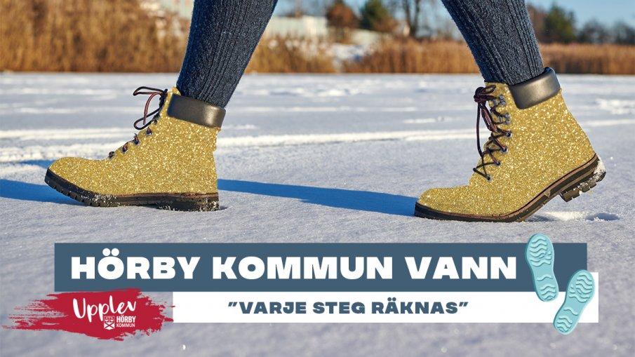 guld skor går på snö